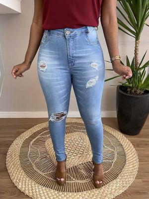 Calça Jeans Cinta Clear