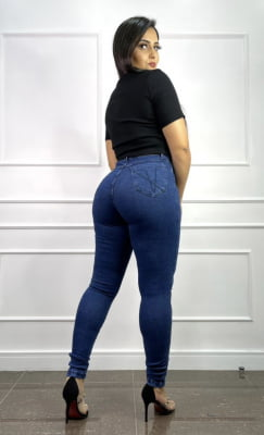Calça Jeans Cinta Ísis