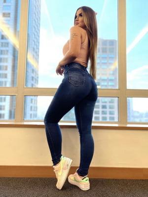 Calça Jeans Cinta Vitória