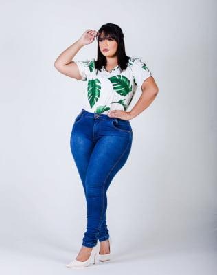 Calça Jeans Plus Size Basic