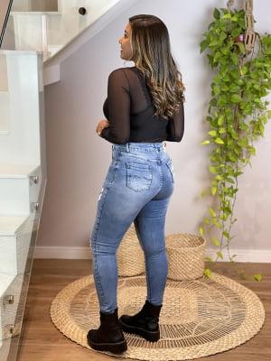 Calça Jeans Rasgos II (Carmen)