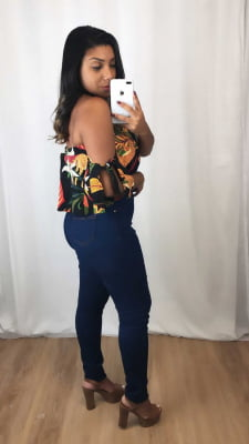 Calça Jeans Skinny Lisa (Carmen)