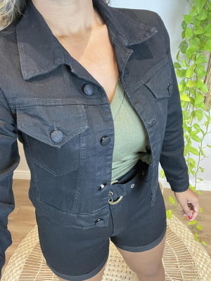 Short Jeans Black Samira