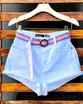Short Jeans Cintinho Princess