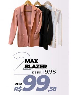 Kit 2 Max blazer