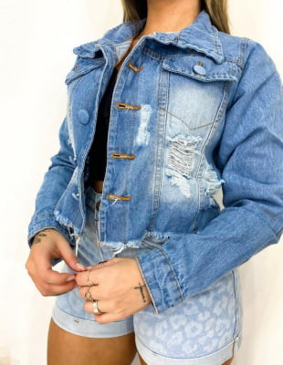 Jaqueta Jeans Beatrice