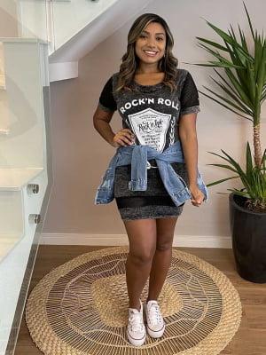 Vestido Rocker